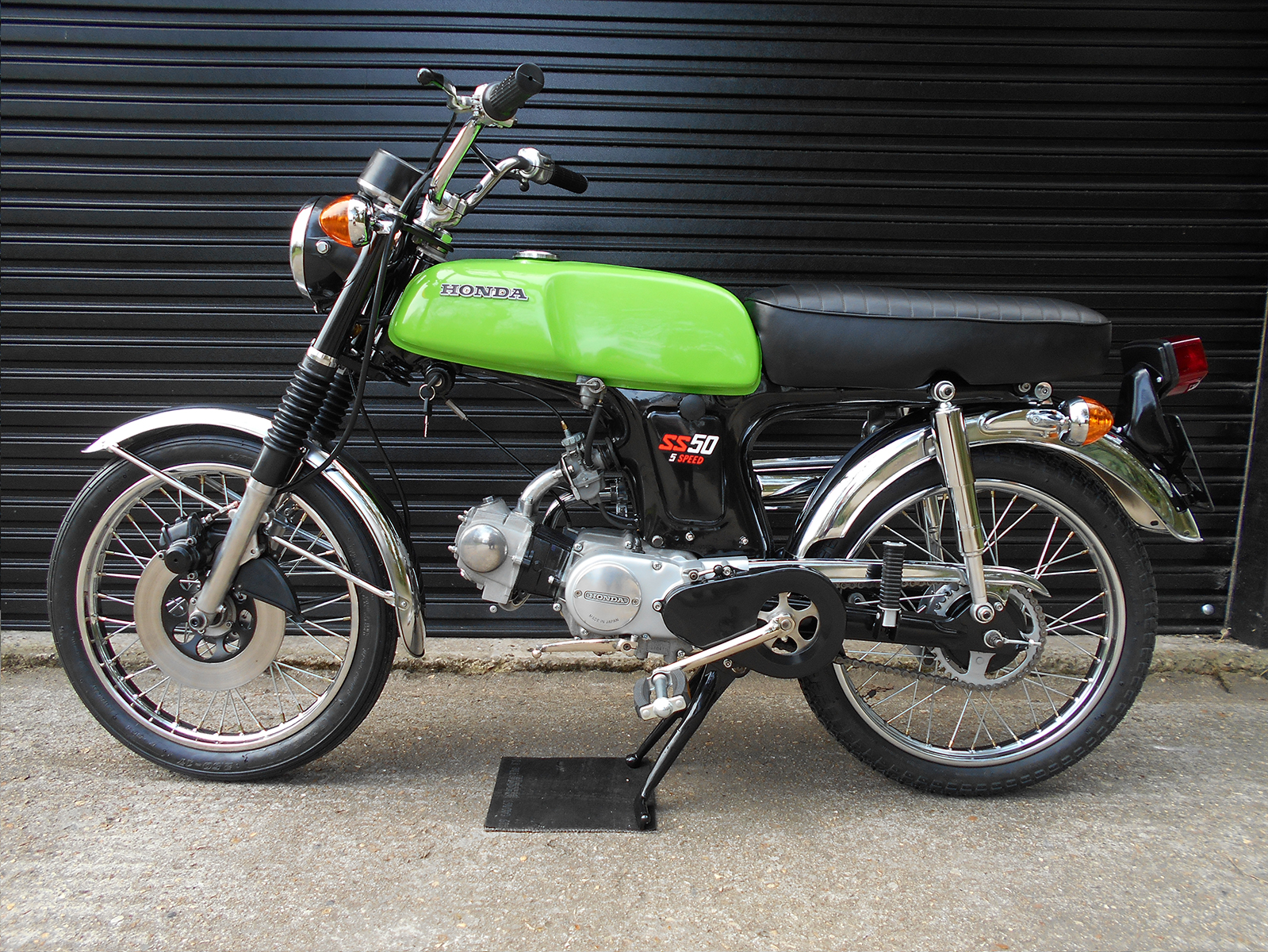 Honda SS50 After