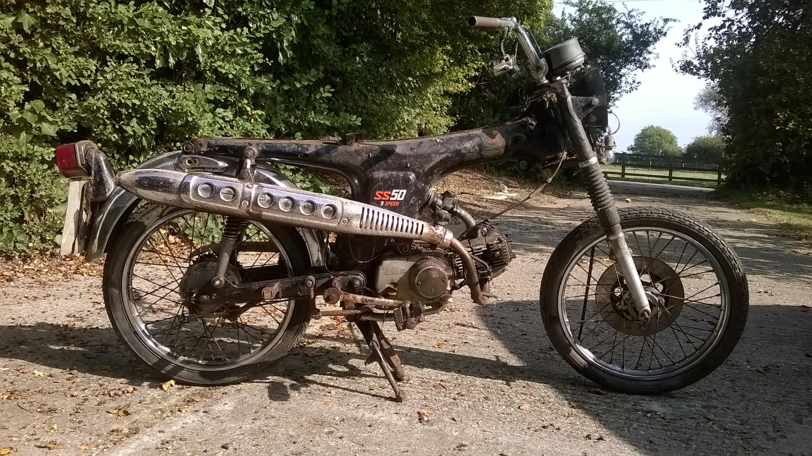 Honda SS50 Before